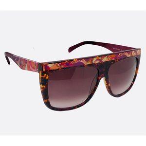 Emilio PUCCI Havana & Gradient Bordeaux Sunglasses